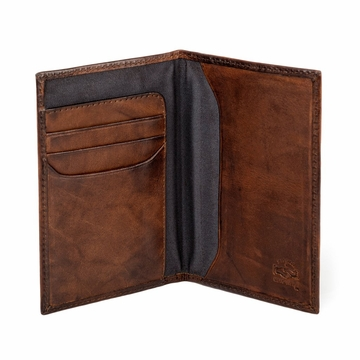 Mission Mercantile Benjamin Leather Passport Wallet