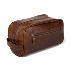 Mission Mercantile Benjamin Leather Wash Bag