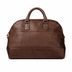 Mission Mercantile Heritage Leather Stateroom Weekender