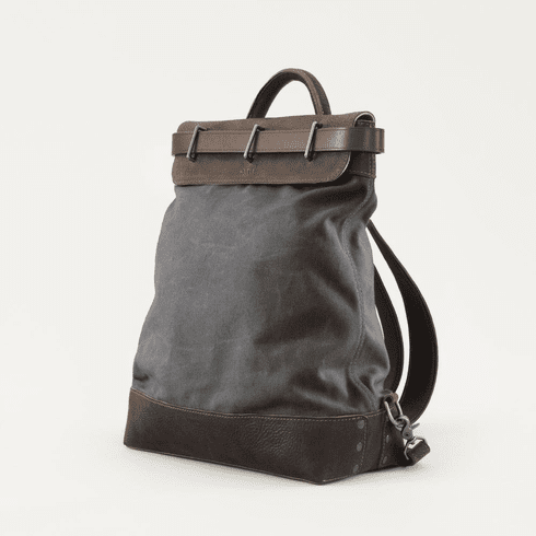 Mission Mercantile Heritage Waxed Steamer Backpack - Sale!