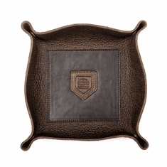 Mission Mercantile Theodore Leather Desk Caddy