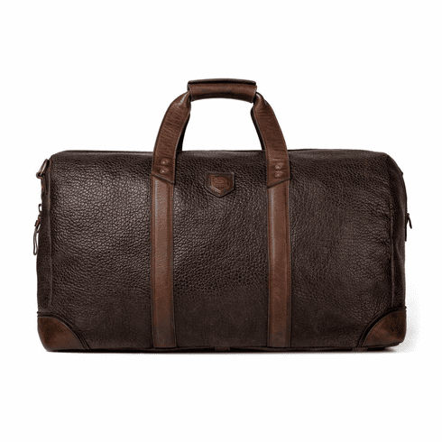 Mission Mercantile Theodore Leather Duffle - Espresso