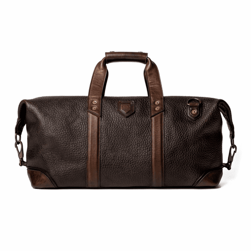 Mission Mercantile Theodore Leather Weekender