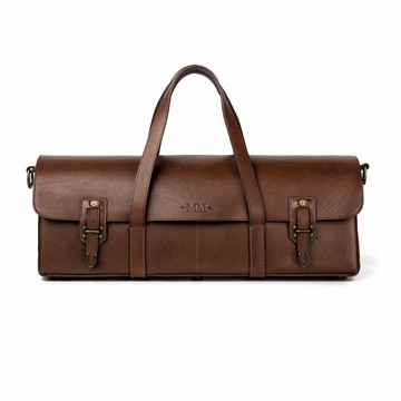 Mission Mercantile Tradesman Bag Oil Leather - Smoke