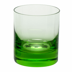 Moser Whisky 12.5oz DOF Glass Ocean Green