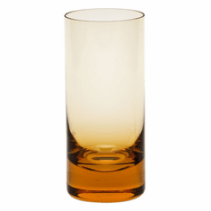 Moser Whisky 13.5oz Hiball Glass Topaz