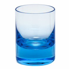 Moser Whisky 2oz Shot Glass Aquamarine