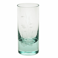Moser Whisky Ocean Life 13.5oz Hiball Glass Beryl