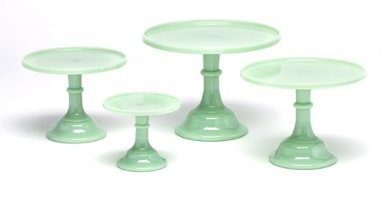 Mosser Glass Jade Green Glassware