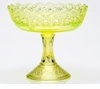 Mosser Glass Queens Compote - Vaseline