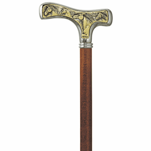 Mustangs Walking Stick Cane by Concord