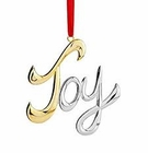 Nambe Holiday - Joy Ornament