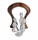 Nambe Holiday - Miniature Nativity Scene