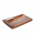 Nambe Judaica - Geo Challah Board with Knife