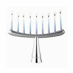 Nambe Judaica - Illume Menorah (Kosher)