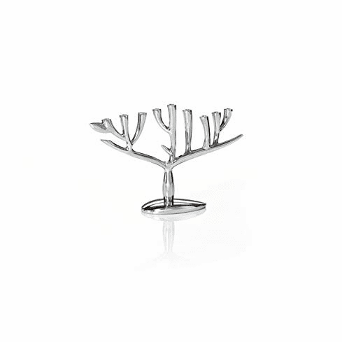 Nambe Judaica - Tree of Life Menorah
