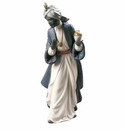 Nao By Lladro King Balthasar With Jug Figure
