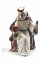 Nao By Lladro King Melchior With Chest Figure