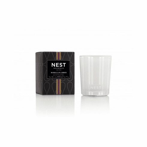 Nest Moroccan Amber Votive Candle 2 oz