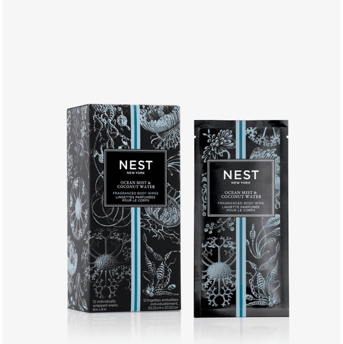 Nest Ocean Mist & Coconut Water Water Activated Fragranced Body Wipes