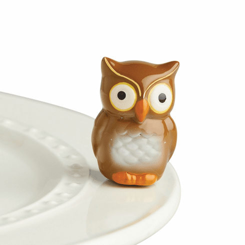 Nora Fleming Be Whoo You Are Mini Ceramic Charm