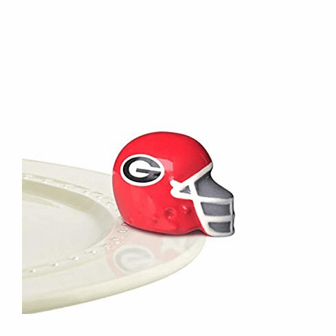 Nora Fleming Georgia Helmet Mini Ceramic Charm