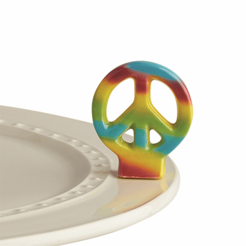 Nora Fleming Peace Out! Peace Sign Mini Attachment