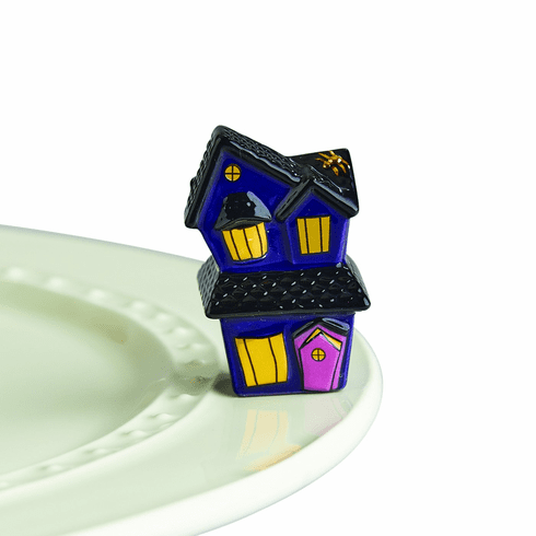 Nora Fleming Spooky Spaces Haunted House Mini Attachment