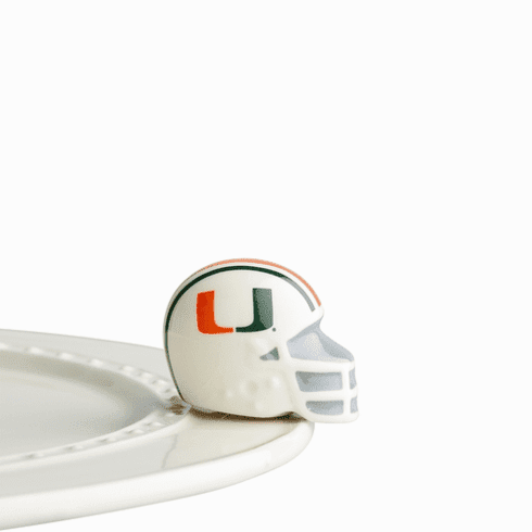 Nora Fleming University Of Miami Mini Ceramic Charm