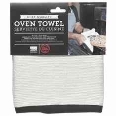 Now Designs Chef's Oven Towel White