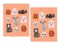Now Designs Swedish Dishcloth Happy Howloween (Sold as Singles)