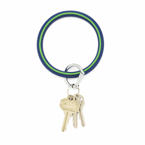 O-venture Big O Key Ring Mind Blowing Blue