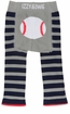 Pavilion Blue Baseball Leggings 6-12 Month