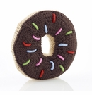 Pebble Donut Rattle - Chocolate