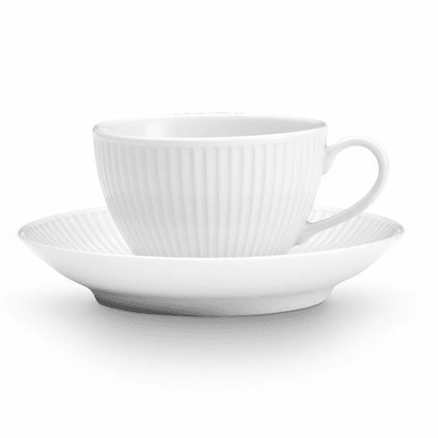Pillivuyt Plisse Tea Saucer Set of 4
