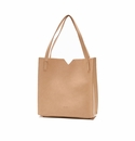 Pixie Mood Alicia Tote Bag-in-a-Bag with Inner Pouch - Praline