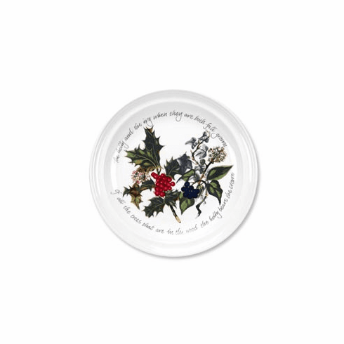 """Portmeirion The Holly and The Ivy 8.5"""" Salad or Dessert Plates (6)"""