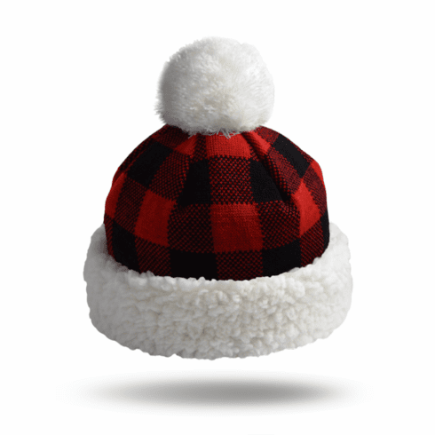 Pudus Hat Lumberjack Red - Kid