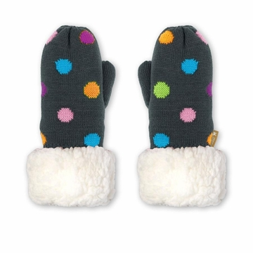 Pudus Mittens Polka Dot Multi Kid