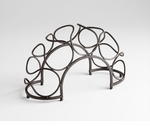 Quirky Bronze Wine Rack by Cyan Design