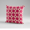 Repeat After Me Pink Decorative Pillow by Cyan Design