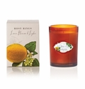 Rosy Rings Botanica Glass Candle Lemon Blossom & Lychee