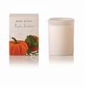 Rosy Rings Botanica Glass Candle Pumpkin Farmhouse