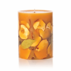"Rosy Rings Spicy Apple 6.5"" Round Botanical Candle"
