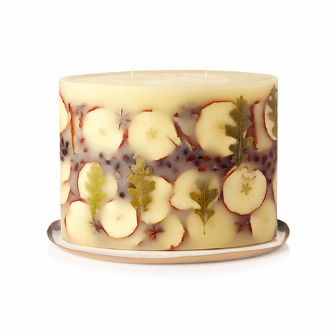 Rosy Rings Spicy Apple Limited Edition Grand Botanical Candle with Plate