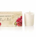 Rosy Rings Votive Candles