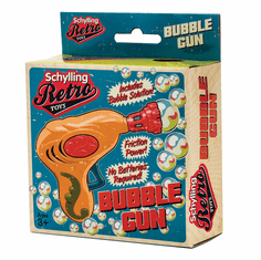 Schylling Retro Old-Fashioned Plastic Bubble Gun