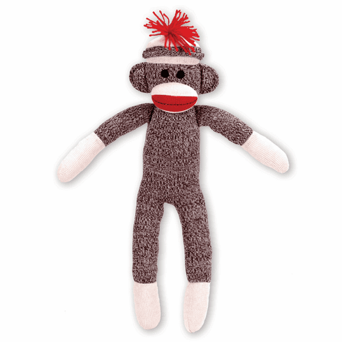Schylling Sock Monkey Vintage Design Stuffed Animal