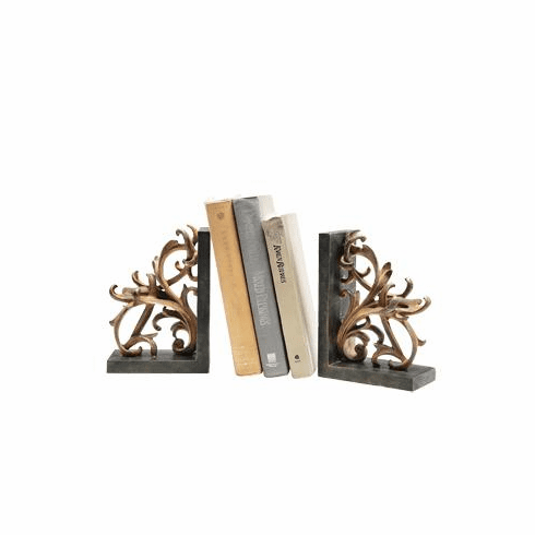 Scroll Bookends by SPI Home