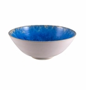 Simon Pearce Crystalline Large Bowl Cobalt
